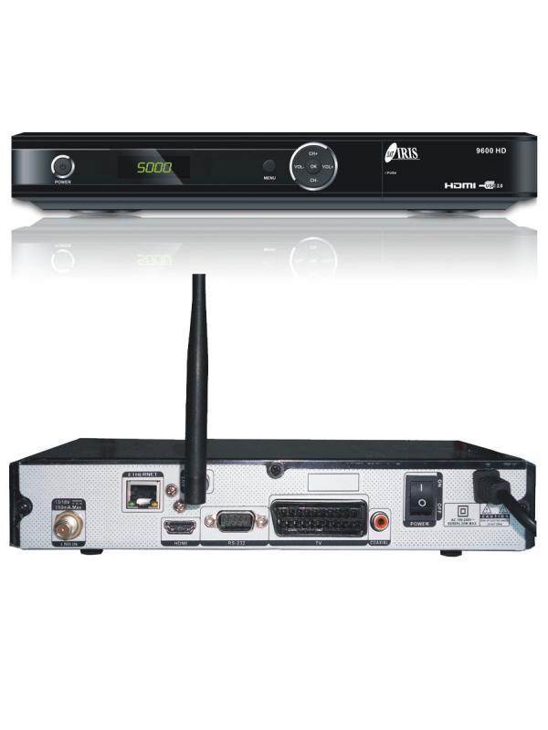TDSAT IRIS 9600 HD WIFI MULTIMEDIA - TDSAT IRIS 9600 HD WIFI CON USB PARA GRABACIÓN/REPRODUCCIÓN MULTIMEDIA.