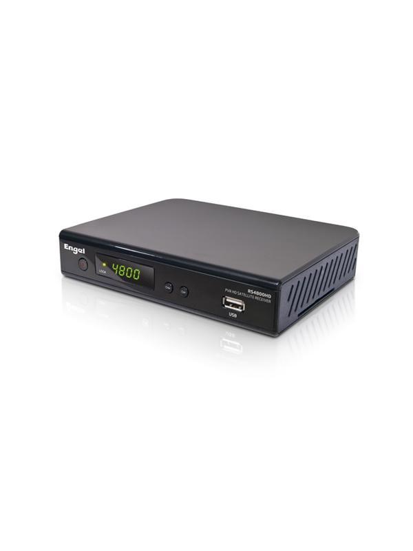 Receptor Satélite HD PVR Engel Wifi RS4800Y - Receptor Satélite HD PVR con mando twist que incorpora un teclado qwerty.