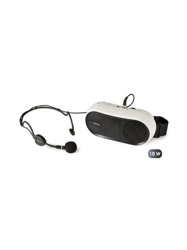Amplificador personal con micro Fonestar FAP-10 - Sistema de amplificación personal compacto para cintura.