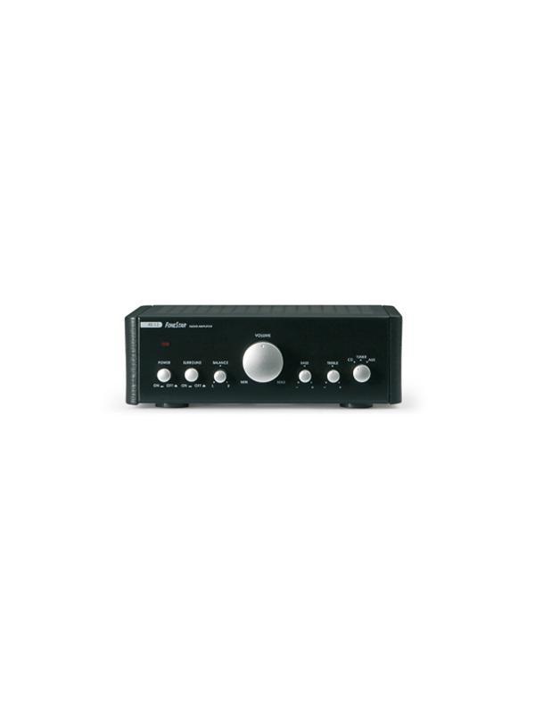 Amplificador Fonestar AS-13 Stereo 2x25W - Amplificador estéreo Hi-Fi de dimensiones muy reducidas ideal para hilo musical y sonorizaciones 2x25 W.