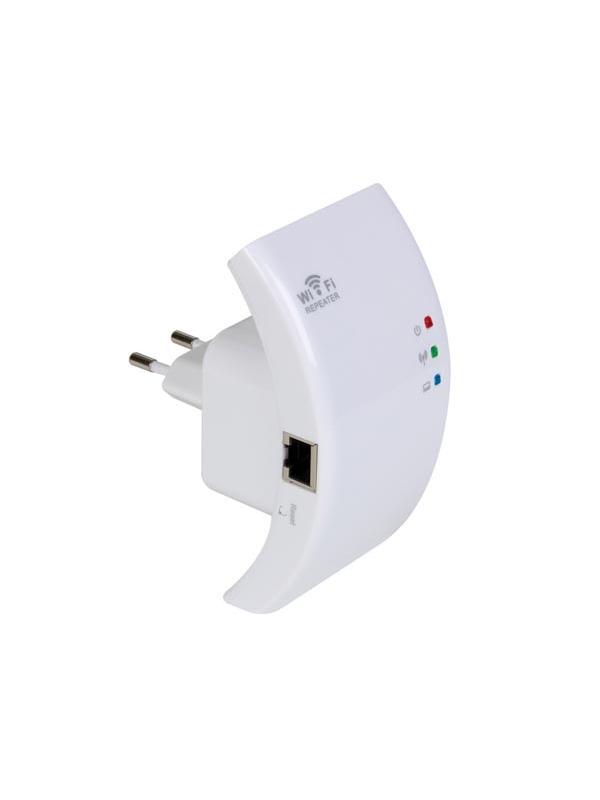 REPETIDOR WIRELESS-N WIFI PARA WLAN  - Un alcance más grande para cada red WLAN: El repetidor WiFi extiende fácilmente el rango de su red WLAN. Provee acceso a Internet para ordenadores que se encuentran justo al final o fuera del rango del punto de acceso. Conecte la conexión a un reproduct