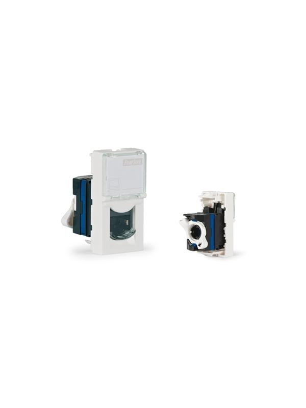 PANEL FONESTAR WP-19RJ RJ45 FTP CAT6 - Panel de pared con conector RJ-45 FTP categoría 6.
