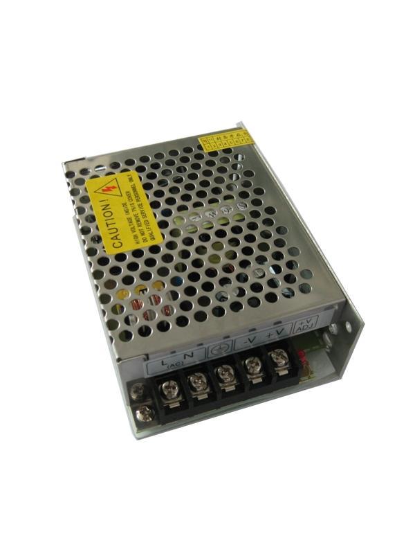 FUENTE AL. CONMUTADA INDUSTRIAL 24V 60W 2.5A - Fuente de alimentación industrial de 24V 60W (2.5A)