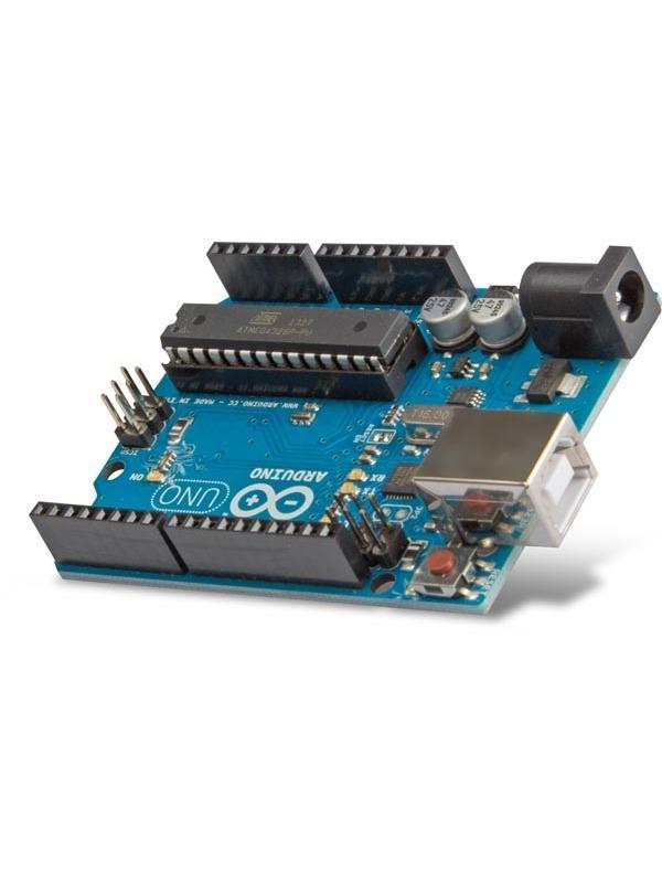 ARDUINO® UNO REV.3 - La Arduino Uno es una placa con microcontrolador basada en el ATmega328. Contiene todo lo necesario para el funcionamiento del microcontrolador.