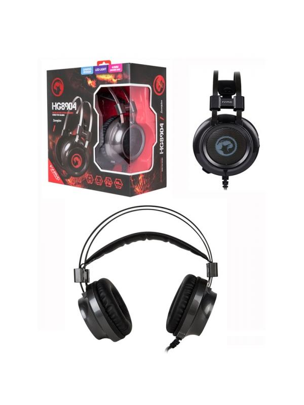 Auriculares con micrófono HG8904GY - La diadema se ajusta perfectamente optimizando así el sonido y las almohadillas te ofrecen un confort total.