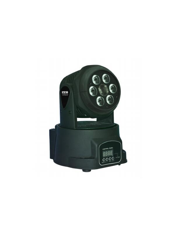 LT MINI BEAM WASH - Cabeza móvil WASH de 60+10 W LED con mezcla de color RGBW y efecto BEAM