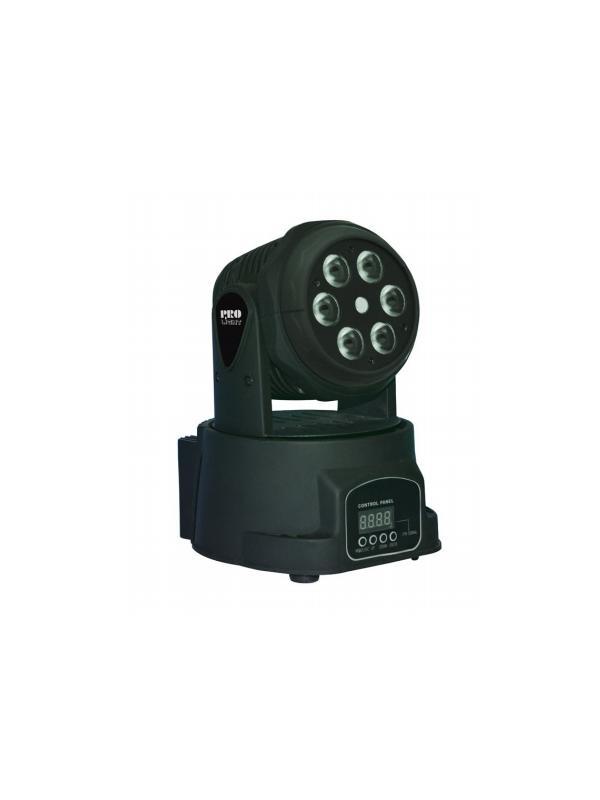 LT MINI LASER WASH - Cabeza móvil WASH de 60 W LED con mezcla de color RGBW y efecto láser.
