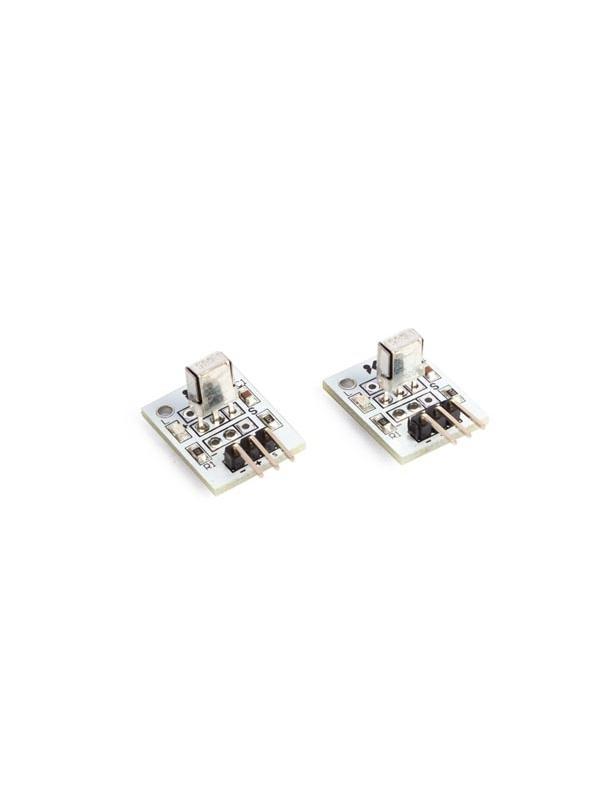 RECEPTOR DE INFRARROJOS 1838 37.9 kHz (2 uds) - El VMA317 (1838) es un mini receptor IR para el control remoto y otras aplicaciones que necesitan un rechazo mejorado de la luz ambiente.