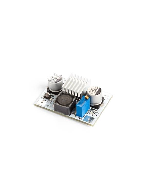MÓDULO STEP-UP (BOOST) TENSIÓN DC-DC LM2577 - Este módulo convierte la alimentación del microcontrolador a una tensión regulable superior.