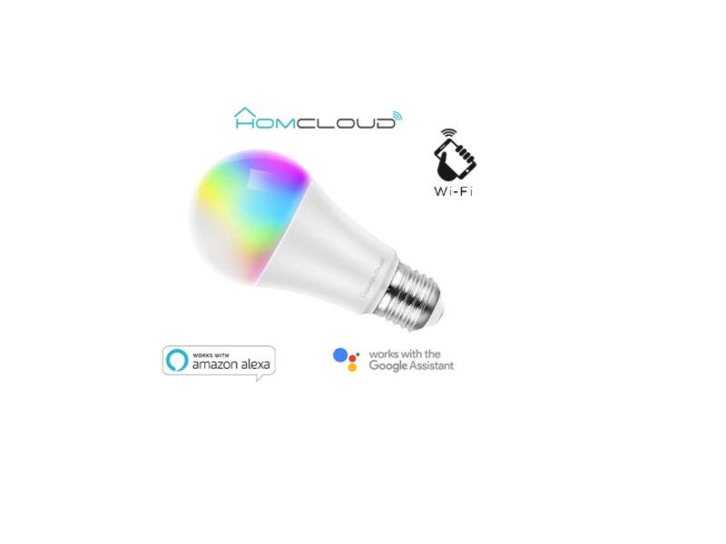 LAMPARA WIFI RGB+CCT E27 REGULABLE