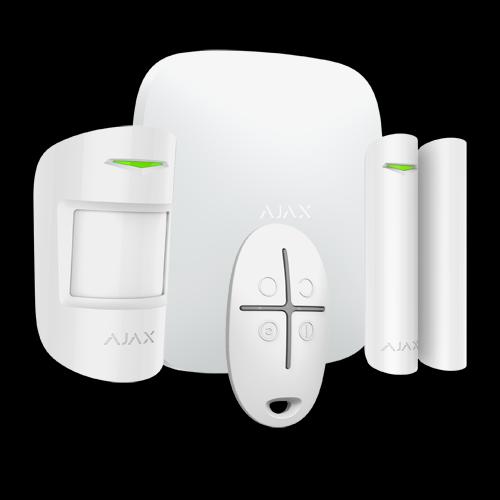 Kit alarma AJAX - Sistema de alarma anti-intrusión profesional AJAX con comunicación inalámbrica bidireccional.