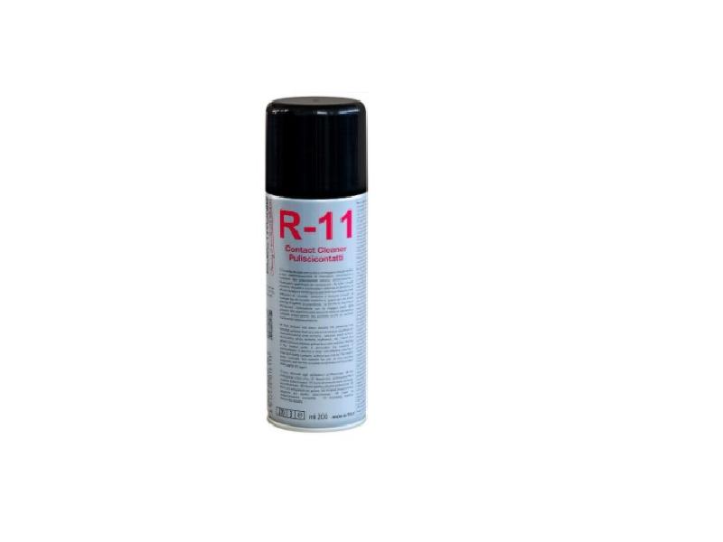 LIMPIA Y ELIMINA LA OXIDACIÓN DE CUALQUIER CONTACTO - El R-11 ha sido estudiado para disolver y eliminar la oxidación de cualquier contacto eléctrico.