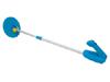 Detector de metales económico CS-50 - Ideal para los niños barra regulable indicadores visuales mediande diodos led y audibles mediante un zumbador. cabezal resistente a las salpicaduras de agua alimentación: 1 x pila de 9V no incluida.