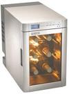 Mini bodega electronica MF-6W - Mini bodega para almacenar sus vinos a la temperatura ideal y poder degustarlos correctamente.