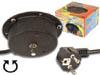 Motor para bola espejos 3 rpm - Para bola de espejos con Ø máx. de 30cm. y un peso de máx. 3kg. Cable de alimentación con conector Schuko.
